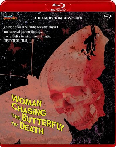 WOMAN CHASING THE BUTTERFLY OF DEATH (Limited Edition)